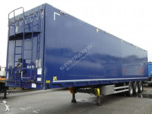 Kraker trailers FULL SIDE OPENING 93M3 LIFT AXLE