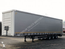 Fruehauf CURTAINSIDER / MEGA / STRONG FLOOR / semi-trailer