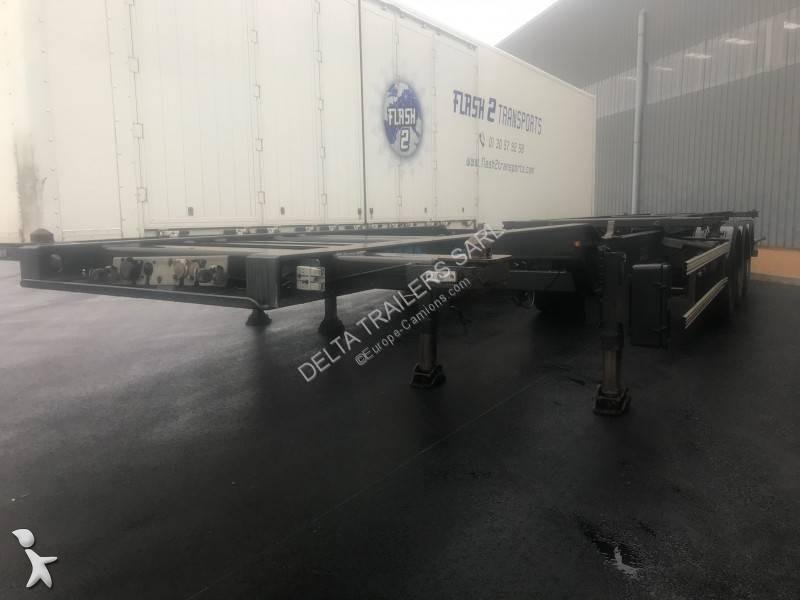 Semi Remorque Porte Containers Sans Hayon Hauteur Standard 493