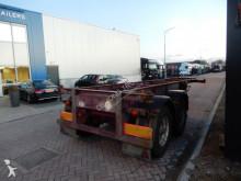 semi remorque Fruehauf 20 FT chassis / Steel suspension