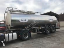 ETA AVEC CITERNE EN INOX 25000 L semi-trailer