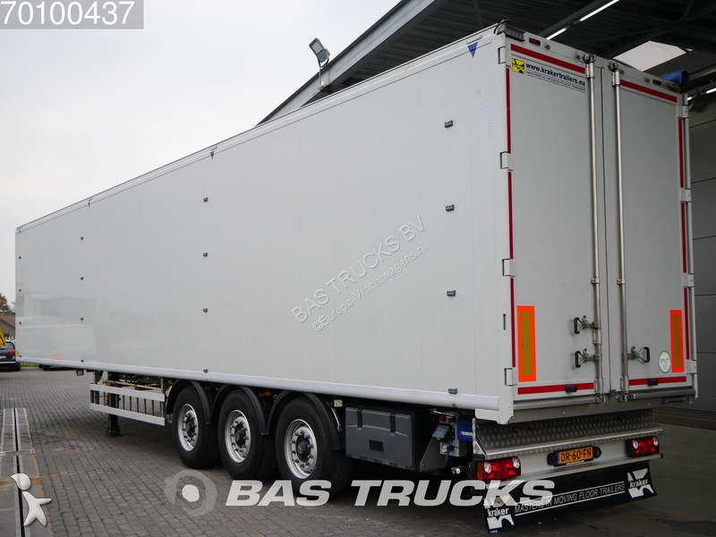 Semi remorque Kraker trailers 91m3 6mm Floor Liftachse Cargofloor CF-500 K-Force