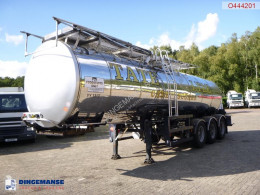 General Trailers Food tank inox 23.5 m3 / 1 comp + pump semi-trailer