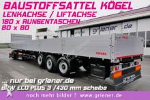 semirimorchio piattaforma Kögel