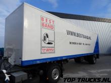 Groenewegen 1 Assige Cityoplegger, Stuuras, Steering axlen TOP CONDITION!! semi-trailer