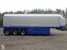 used panel carrier flatbed semi-trailer
