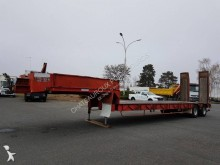 Robuste Kaiser PORTE-ENGINS 2 essieux PLATEAU LONG semi-trailer