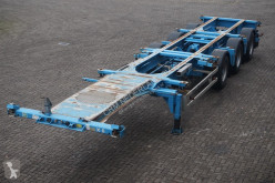 semi remorque Renders Container chassis 3-assig/X-steering/40ft