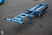 Renders Container chassis Multi /20,2x20,30,40,45ft. semi-trailer