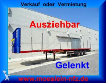 semi remorque Goldhofer 3 Achs Tele Auflieger, 4,20 m ausziehbar, gelen