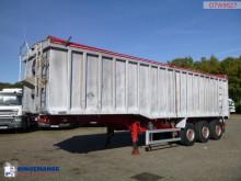 semi reboque Wilcox Tipper trailer alu 49 m3 + tarpaulin