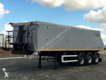 semirremolque Mega TIPPER 38 M3 / LIFTED AXLE / FLAP /