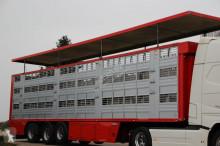 semirremolque para ganado bovino usado