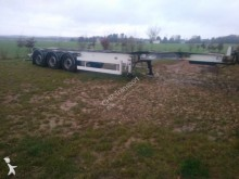 damaged chassis semi-trailer