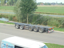 D-TEC 5-Axle Multi Chassis / ROR Axles / NL Trailer / Double Chassis semi-trailer