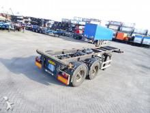 Pacton 20FT, BPW, NL-trailer, 3.060KG semi-trailer
