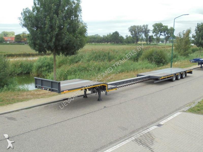 Semi remorque Lintrailers Semi Lowbed / Platform / Extendable / New Trailer