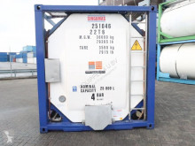 onbekend 2012, 20FT tankcontainer, 25.000L, L4BH, T12, valid 5Y insp. 11/2020, internal coating