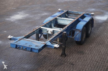 Netam Container chassis 2-assig/20ft. semi-trailer