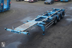 semi remorque Renders Container chassis X-steering/20,2x20,30,40ft.