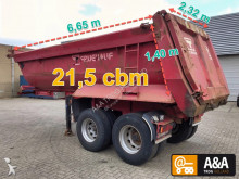 semi remorque Fruehauf D32C blatt steel suspension 2012