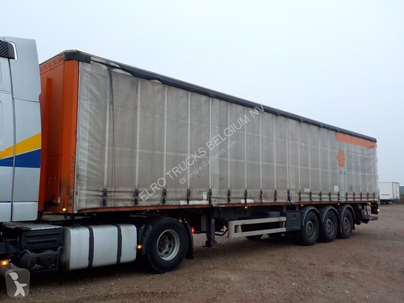 Semi remorque Van Hool 3B0064 (MERCEDES AXLES)