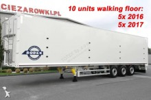 semi remorque Bodex WALKING FLOOR BODEX KIS3B 10 UNITS!