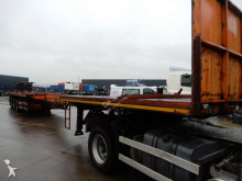 Nooteboom OVB-55-W Extendable Flat trailer / 3x steering axle semi-trailer