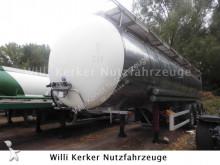 Schrader Tankauflieger 32 m³ V2A 7582 semi-trailer