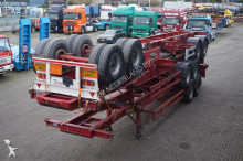 semi remorque nc Container chassis 2-assig/20ft