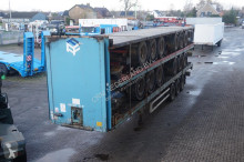Lawrence David Open 3-assig/13.6m semi-trailer