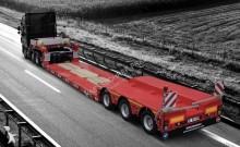 Kässbohrer 2017 heavy equipment transport