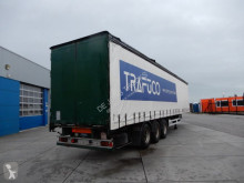 trailer Flandria Curtain sider / Lift axle / Apk
