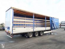 trailer Krone Mega-Bordwandsider, Hubdach, BPW, NL-Auflieger