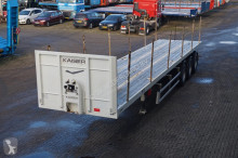 Robuste Kaiser Open Full Steel HEAVY DUTY 57T 3-assige open oplegger met twistlocks semi-trailer