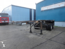 semirimorchio Groenewegen 20CC-10-18 STEEL SUSPENSION 20FT CONTAINER CHASSIS (LAMME / 8 TIRES)