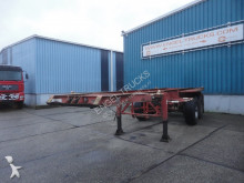 semi remorque Pacton 2328C-2. FULL STEEL 20 FT CONTAINERCHASSIS (LAMME / BPW AXLES)
