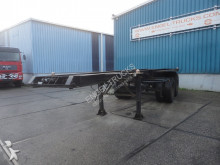 trailer Pacton 2328 C-2 FULL STEEL 20FT CONTAINER CHASSIS (LAMME / 8 TIRES)