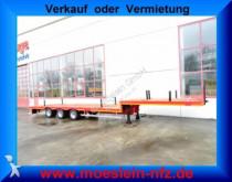 semi reboque Möslein 3 Achs Tieflader für Fertigteile, Baumaschinen,
