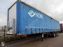 Groenewegen Curtain sider / Lift axle / Joloda floor semi-trailer