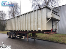 semi remorque Fruehauf kipper 47 M3, Steel suspension
