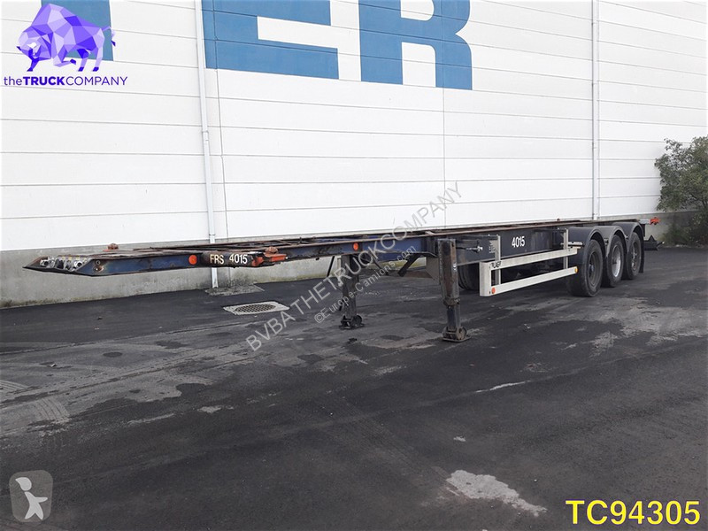 Semi Remorque Lag Porte Containers Hauteur Standard 13 Annonces