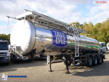 Feldbinder Food tank inox 23.5 m3 / 1 comp + pump semi-trailer