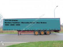 Renders 10x Tautliner / Discbrakes / Merc Axles semi-trailer