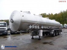 semi reboque Magyar Chemical tank inox 31 m3 / 4 comp