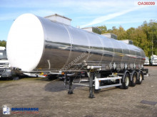 BSLT Chemical tank inox 33 m3 / 4 comp semi-trailer