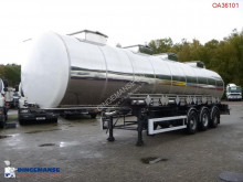 trailer BSLT Chemical tank inox 33 m3 / 4 comp