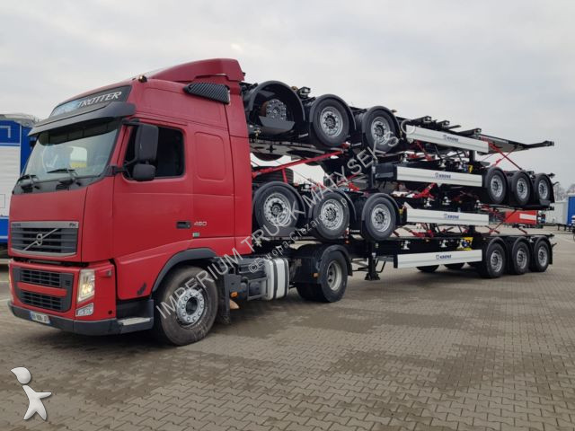 Naczepa Krone FOR CONTAINERS / ALL TYPES / UNIVERSAL/ LIFT AXL