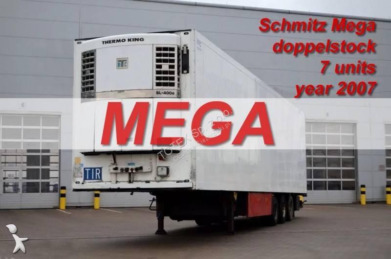 Naczepa Schmitz Cargobull SEMI TRAILER REFRIGERATOR SCHMITZ SKO 24 MEGA DOPPELSTOCK