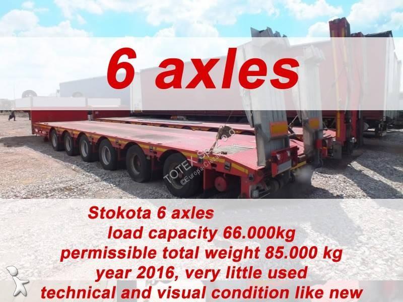 Naczepa Stokota 6 AXLE SEMI TRAILER LOW LOADER STOKOTA S6U.H4.N1-01